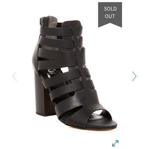 Sam Edelman York caged sandal black 8.5